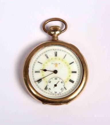 Reloj de cazador de tres tapas, lepine ELGIN NATL WATCH CO.