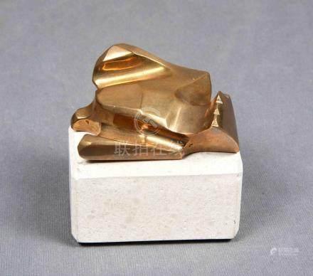 """SERRANO, PABLO (1908-1985). """"Paloma"""". Escultura en bronce do"""