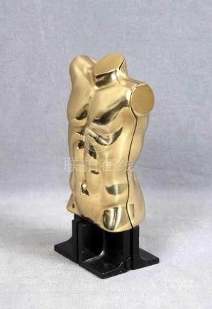 """BERROCAL, MIGUEL (1933-2006). """"Torso"""". Escultura en dos piez"""