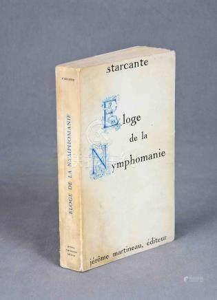 """STARCANTE; SEIGNOLLE, CLAUDE (1917-2018). """"Eloge de la nymph"""