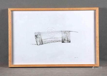 "ROJAS, PACO (1942). GRUPO TOLMO. ""Conceptual"". Dibujo a tint"