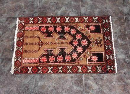 Alfombra persa de oración para niños, procedente de Veramin,