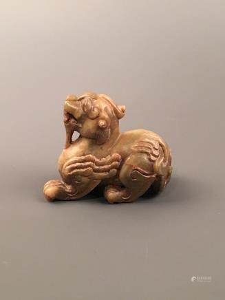 Chinese Archaic Jade Animal Figure