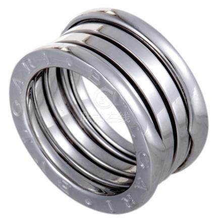 Bvlgari B.Zero1 18K White Gold 4Band Ring