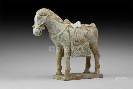 Chinese Ming Standing Horse