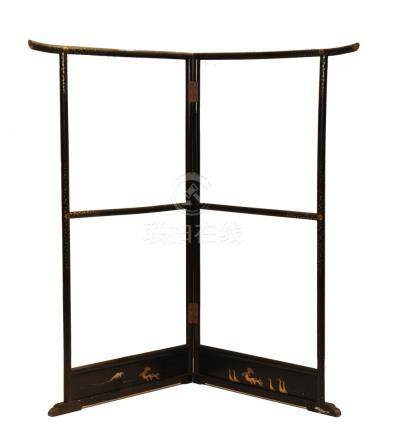 TALL JAPANESE WOODEN SCREEN FRAME