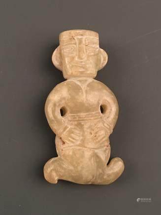 Chinese Archaic 'Human' Jade Statue