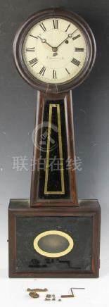 E Howard Boston Banjo Clock