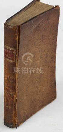 Book, Temple of Gnidus, 1797