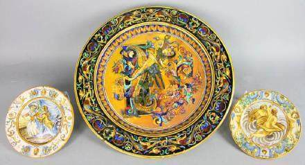 18th/19th Century Italian Glazed Charger