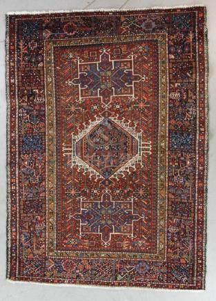 Antique Persian Karaja Rug