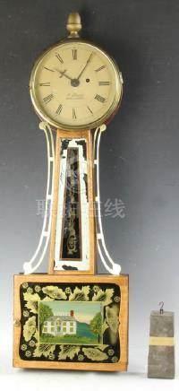 Early 19thC Dewey Banjo Clock