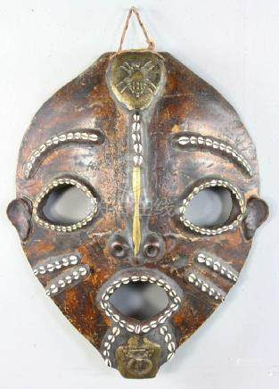 Early 19thC West African Shell Mask