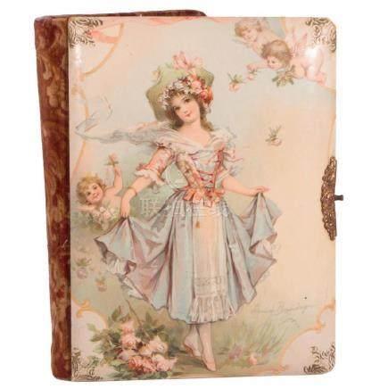 19th century album of photos.
