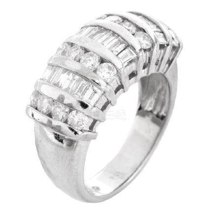 1.58ct Diamond and 14K Gold Ring