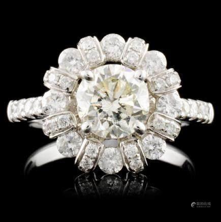 18K Gold 2.48ctw Diamond Ring