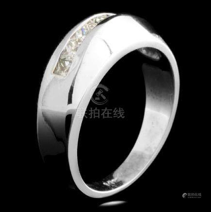 14K Gold 0.48ctw Diamond Ring