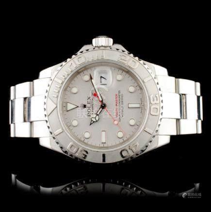 Rolex Yatch-Master SS 16622 40MM Wristwatch