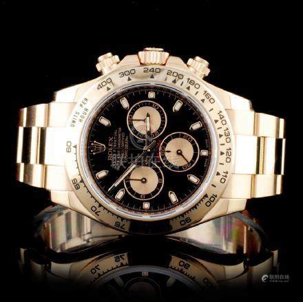Rolex Daytona 18K Rose Gold Wristwatch