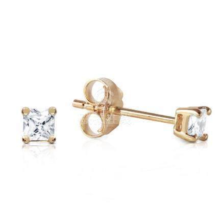 Genuine 0.25 ctw Diamond Anniversary Earrings Jewelry