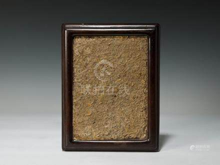化石木掛屏