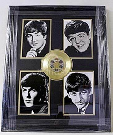 The Beatles Giclee with Mini Gold Album HE5063