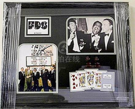 FDS STAFF GICLEE with Sands Playing Cards HE5091