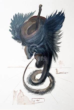 Dali - Hell Canto 20 - The Divine Comedy