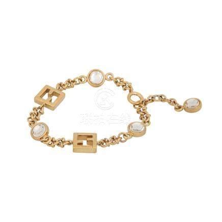 FENDI Modeschmuck-Armkette.
