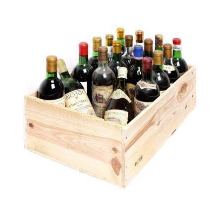 1966-1985 Bordeaux Wine Collection, 18 bottles x 75 cl