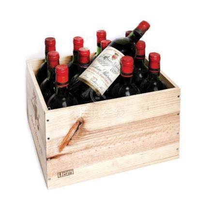 1979 Château Plaisance, 1eres Côtes de Bordeaux, 12 bottles