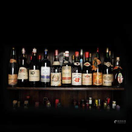 60's - 90's French Wine Collection, 29 bottles x 75 cl
