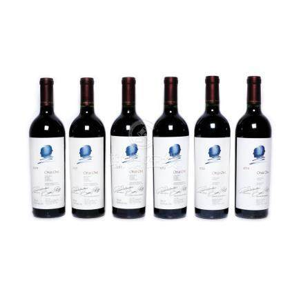 Opus One Vertical Collection - 2005/2007/2011/2012/2013/2014