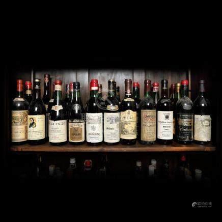 1973 Italian Wine Collection, 26 bottles x 72 cl / 1 bottle