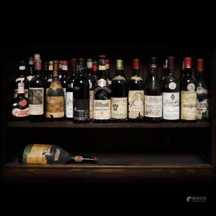 1971 Italian Wine Collection, 36 bottles x 72 cl / 1 bottle