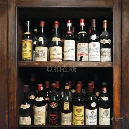 1970 Italian Wine Collection, 35 bottles x 72 cl / 4 bottles