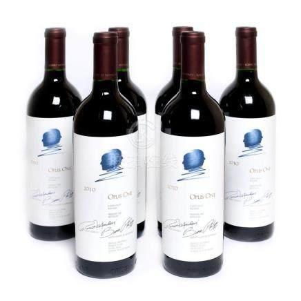 2010 Opus One, 6 bottles x 75 cl
