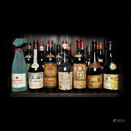 1964 Italian Wine Collection, 21 bottle x 72 cl