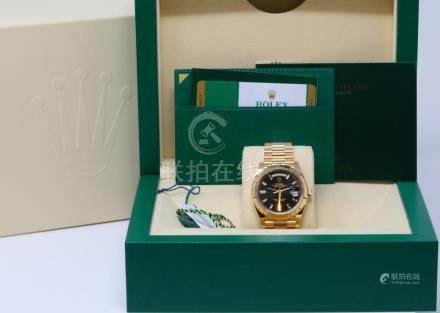 Rolex Presidential Day-Date Solid 18K Yellow Gold 40mm Watch