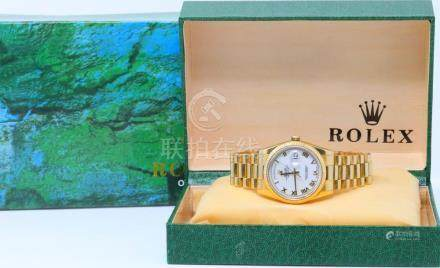 Rolex Presidential Day-Date Solid 18K Yellow Gold 36mm Watch