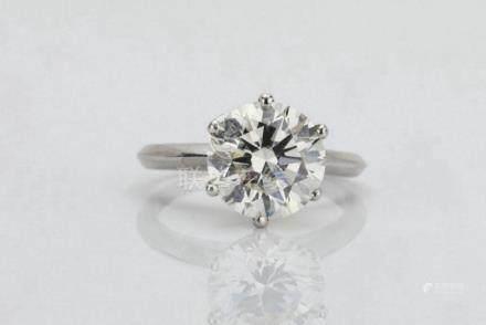 9.05ct SI1-SI2/G-H Brilliant Round-Cut Diamond Solitaire in