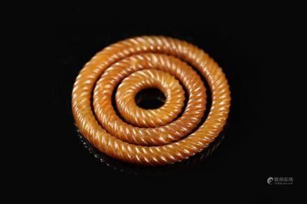 漢代玉套環