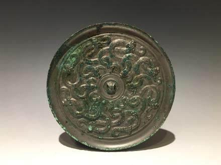 戰國蟠螭紋銅鏡
