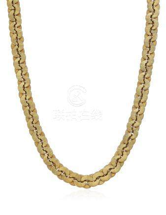 BUCCELLATI GOLD LINK LONG NECKLACE