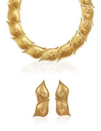 ZOLOTAS GOLD JEWELRY SET