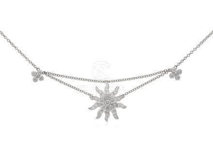 TIFFANY & CO. DIAMOND STARBURST NECKLACE