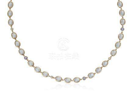 TEMPLE ST. CLAIR MOONSTONE NECKLACE