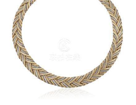 BUCCELLATI TWO-TONE GOLD NECKLACE