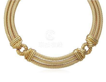 DAVID YURMAN GOLD CABLE NECKLACE