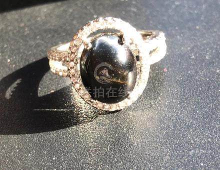 Antique Silver Tiger's Eye Ring